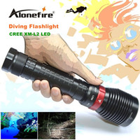 battery pool lights - XY001 Underwater Diving Flashlight XM L2 LED Light Lamp Waterproof Lm L2 LED Light by Battery For Driving