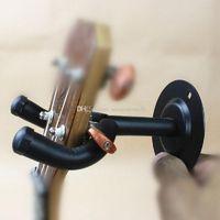 Wholesale Wall Mount Hanger Electric Bass Acoustic Guitar Bracket Holder Hook Rack G00015 FASH