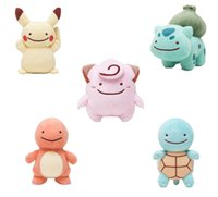 Wholesale Hot Sale cm Poke Pocket Monsters Pikachu Charmander Squirtle Bulbasaur Clefairy Ditto Metamon Plush Doll Stuffed Toy