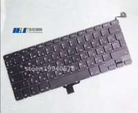 asus brand laptops - Freeshipping Brand NEW Original Laptop A1278 keyboard Russia Version quot built in for MBP Apple Unibody