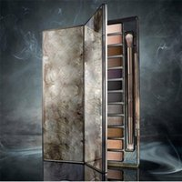 Wholesale HOT Makeup NUDE Smoky Palette Color Eyeshadow Palette g High quality DHL