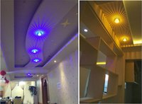 Wholesale Modern w LED Ceiling Light For Home Livingroom Bedroom Restaurant Aisle Corridor LED decoration lighting Luminous spot Lamp