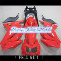 advanced kawasaki - Advanced Motorcycle Fairing kit for KAWASAKI Ninja ZX250R ZX R ZX R EX250 Red Fairing parts