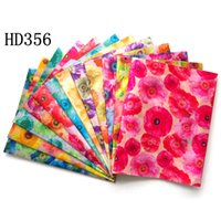 beachwear designer - Latest Floral African Sego Headtie for Women Print Polyester Fashion Designer Multi Color Gele Headscarf for Wedding