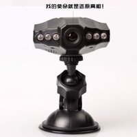 Wholesale Six Light Aircraft Head of Vehicle Traveling Data Recorder Car Dvr Wide angle Infrared Night Vision HD Gift for Car Insurance