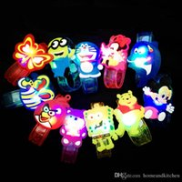 Wholesale 12pcs cartoon luminous toy bracelet colorful rgb light up toys for holiday party concert light up Light Up Toys wrist band