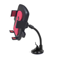 Wholesale For iphone7 Universal Car Holder Degree Rotation Smartphone Mounts Holder For iphone Samsung Smartphone GPS Camera Recoder