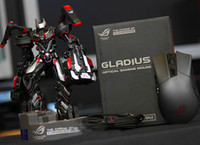 asus wire - Authentic Asus P501 A ROG Gladius Gaming Mouse Black box package dpi eSports game wired optical Mouse