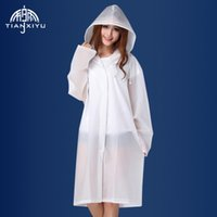 Wholesale Travel translucent for adult men and women travel raincoat portable conjoined han edition poncho than disposable raincoats