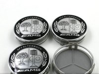 amg auto - 4pcs MM For Be n z AMG AFFLTERBACH GLS GLC GLA GL GLK ML Auto Wheel Cover Car Wheel Emblem Label Car Wheel Hub Cap