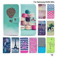 balloon pouch - Balloon Painting Stand Wallet Style Cell Phone Shell For Samsung Galaxy S4 mini Flip PU Leather Case With Card Holder