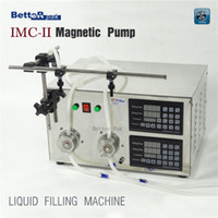 Wholesale IMC II Double filling nozzle steel shell CNC magnetic pump liquid filling machine V Hz