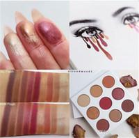 Wholesale 2016 makeup New arrival Kylie kyshadow burgundy palette Eyeshadow palette eyes powder High Quality
