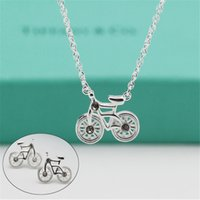 bicycle earrings - Sterling Silver Chocker Necklace Earrings Statement Jewelry Women Party Jewelry Wedding Silver Bicycle Necklace Earrings