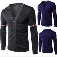 Wholesale HOT men s winter high quality cotton velvet long sleeved hit color baseball uniform MEN JACKET T67