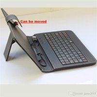 best usb manufacturer - In Stock Manufacturers Selling inch keyboard case Tablet Computer Holster Universal Stand Leather cover Micro USB Standard USB Best Qua