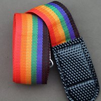 Wholesale Rainbow Travel Luggage Suitcase Strap Baggage Belt Luggage Secure Safe Belt Strap m Durable Gifts