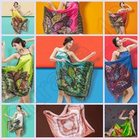 Wholesale LJJJ110 Sexy Women Lady Butterfly Flower Print Lingerie Sleepwear Brace Skirt Ethnic Nightgowns Sleepshirts Robe Colors