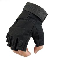 Wholesale Original Brand Outdoor Sports Fingerless Military Tactical Airsoft Hunting Cycling Bike Gloves Half Finger Gloves