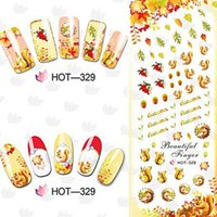 best nail decals - Mix Style Postage Series Best Nail Art Decal Nail Art Water Transfer Decal Sticker Professional