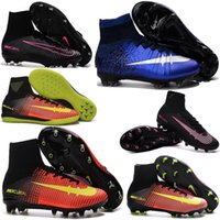 aa safety - Hot Men s Superfly CR7 FG Football Boots Magista Obra Football Boots Men Soccer Boots Cleats Shoes Sneaker Sports Shoes
