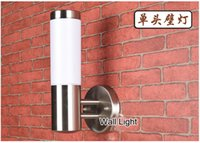 bathroom cabinets ikea - 2016 Kitchen Cabinet Ikea Bathroom Light Wandlamp Wall Lamp Outdoor Modern Brief Waterproof Balcony Stainless Steel Led with w E27 Bulb