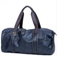 Wholesale PU Travel Bags Mens Handbags High Quality Soft Large Duffel Bags Waterproof Trip Bag Factory Price