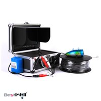 Wholesale Fish Finder kit Mini Fish finder HD TVL LCD Fishing Camera Kit Portable Night Vision Fish Finder With DVR M cable