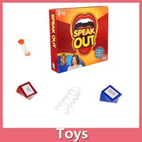 Wholesale Hasbro toy Speak Out Game Board Game Interesting Party Game For Christmas For Hallowmas With High Quality And Fast Shippment
