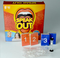 Wholesale Hottest Speak Out Game KTV party game cards for party Christmas gift best selling toy Ridiculous Mouthpiece Challenge Game