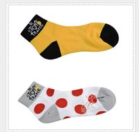 Wholesale Top Tour de france Cycling Crew Socks bike socks Solar Protection Bicycles Foot Warmer CREW Cycling High Quality Sports Socks
