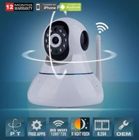 Wholesale P2P P IP Camera Wifi Wireless Mini CCTV Camera Baby Monitor Security P T Micro Surveillance Camera IOS Android APP