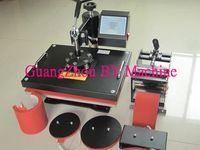 Wholesale GuangZhou good quality holiday gifts digital design make machine combo CE in mug tshirt cap key flag plate printer