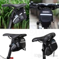 bicycle storage bags - New Waterproof Cycling Seat Pouch Bicycle Tail Rear Storage Bike Saddle Tube Bag H210512