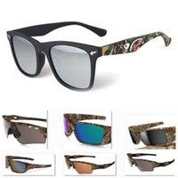 Las gafas de sol calientes de las mujeres de los hombres de la bicicleta de la edición de Camo de la venta de la venta caliente del deporte diseñan los gafas de sol del diseñador de la marca de fábrica Gafas de sol al aire libre del ciclo