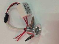 Wholesale 10pcs Mini led cabinet light W W mini led downlight AC85 V Mini led lamp white or Warm white RoHS CE