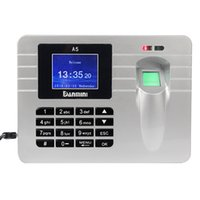 biometric time attendance system - 2 Inch Color TFT Screen Biometric Time Recording No Need Software Fingerprint Attendance Machine System F6100D