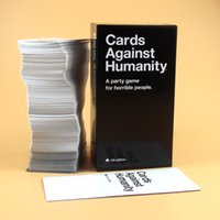 Wholesale Immediate Delivery Against Humanity Cards CA Basic Edition Cards educational toys Against Game EE
