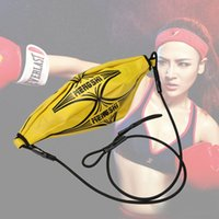 Wholesale New Hanging Punching Boxing Sparring Speed Inflatable Ball Training Equipment
