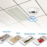 android view - Muliti function Wifi IP Camera Smoke Detector Hidden Camera Security Camcorder Mini DVR for IOS iPhone iPad Remote View