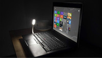 Wholesale 50pcs Mini USB LED Lamp Fashion table lamp Degree Adjustable Flexible Portable LED for PC notebook Mobile charging Po