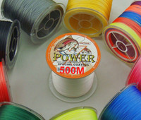 Wholesale M X POWER Multifilament PE Coated Braided Fishing Line LB to LB Japan Quality