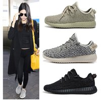 Wholesale Yeezy Boost Low Sneakers Quality Kanye West Yeezy Shoes Pirate Black Turtle Dove Grey Moonrock Oxford Tan Women s Men s Shoes