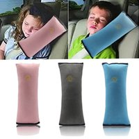Wholesale Seat Belt Cushion Usefully Baby Car Auto Shoulder Pad Soft Headrest Vehicle Safety Pillows Strap