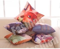Wholesale Zootopia PP Cotton Pillow Case Cartoon Nick Wilde Judy Hopps Gazelle Stuffed Plush Toy Cushion Designs cm Factory Direct