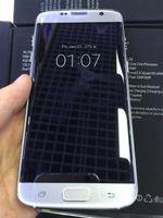 al por mayor la pantalla de reproducción-Free DHL Curved pantalla 1: 1 S7 Edge 5.5inch teléfonos celulares Android Mostrar Octa núcleo Real 4G LTE HDC teléfono móvil inteligente Quad PK I7 NOTA más 7