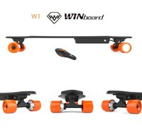 Wholesale Winboard free shipped directly from USA warehouse wireless bluetooth Electric skateboard longboard with single brushless hub motor