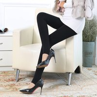 Wholesale The spring and autumn period and the polyamide fiber ultra soft thin ladies wear trousers and show thin fall grams of wool trample feet
