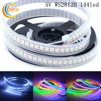 flat led rope light - WS2812B Pixels M Programmable LED Strip Ribbon Rope Light RGB Digital Dream Color Individual Addressable Full Color V