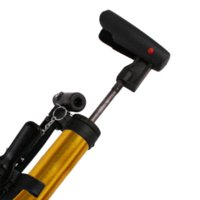 aluminum hand pump - Portable Aluminum Bike Bicycle Ball Tire Hand Air Pump High Pressure Inflator Gold pump pump vacuum